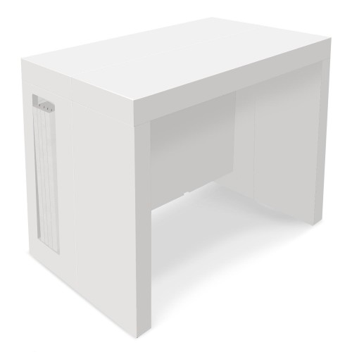white console